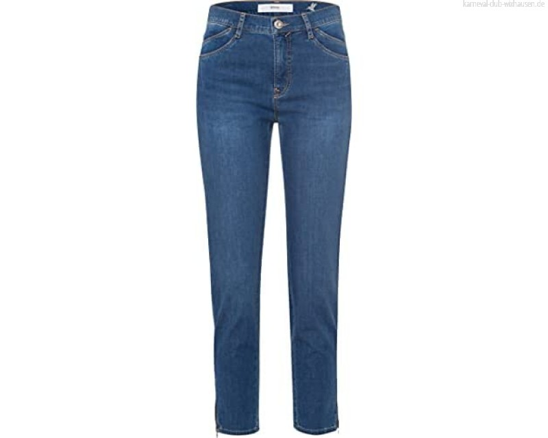 BRAX Damen Style Mary S Jeans Used Water Blue 42K