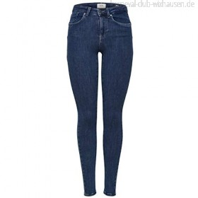 ONLY Damen Skinny Fit Jeans ONLPower Mid Push Up